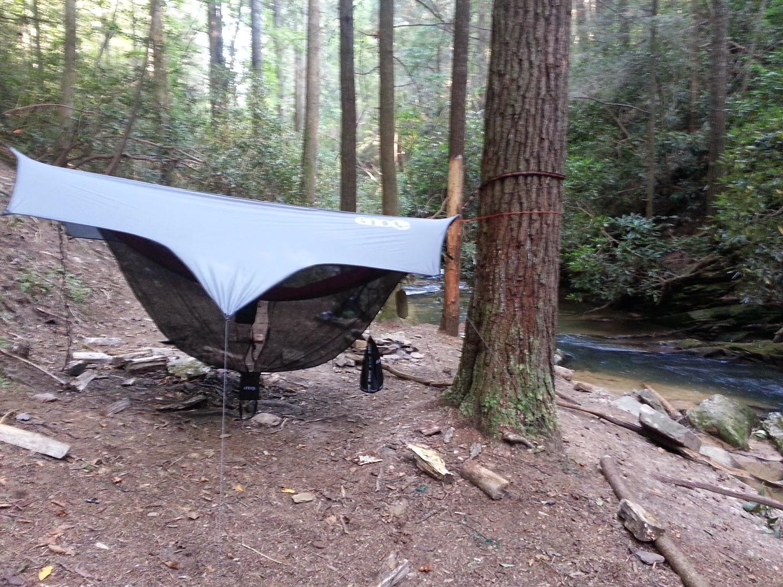 Hammock Camping in North Georgia