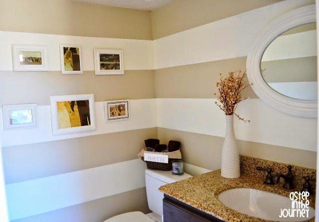 painting horizontal stripes on wall ideas