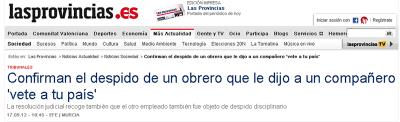 Obrero Español Despedido