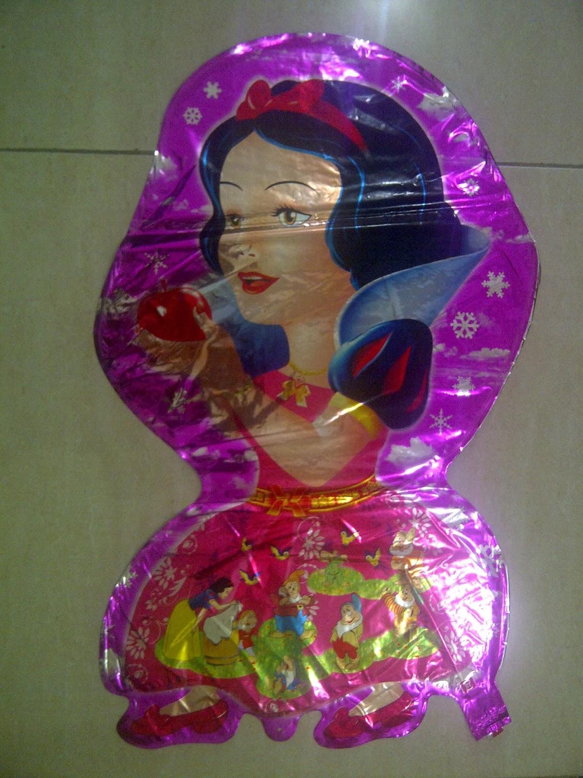 Balon Character Princess Metalik Anugerah Utama Toys Motif Ultraman