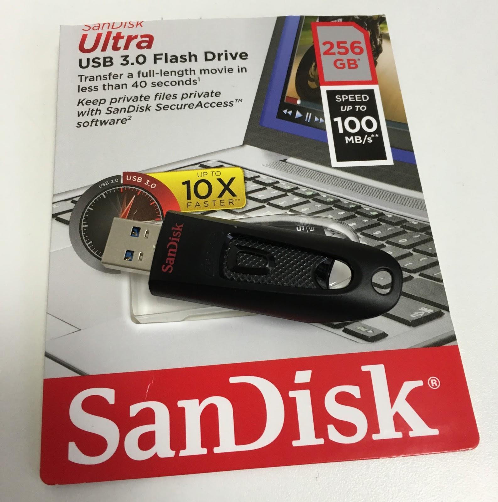 Cómo llevar la nube en el bolsillo: hasta 256 GB cifrados en un USB SanDisk