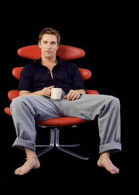Jake Elliott Actor >> Famous Male Feet: Matthew McConaughey
