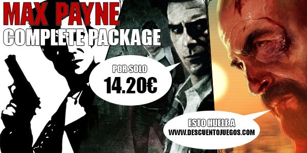 max payne 1 2 3 complete package barato