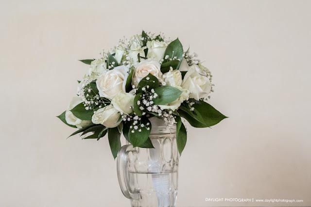 wedding bouquet, foto detail bunga pernikahan tradisional jawa di yogyakarta