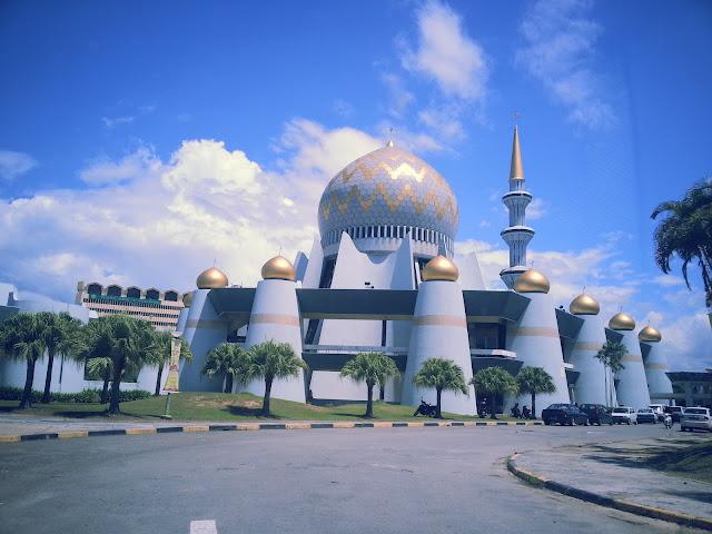 masjid negeri sabah cantik