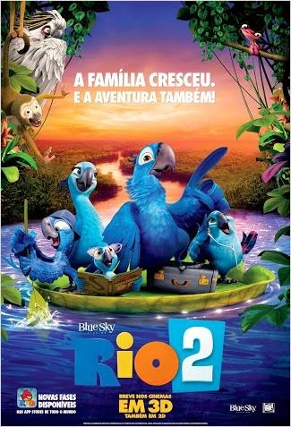 Rio 2 RMVB Dublado + AVI Dual Audio TS (2014)