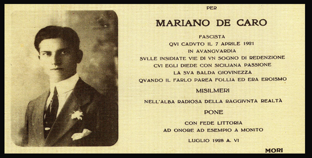 MARIANO DE CARO