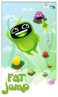 Screenshots of the Fat Jump for Android tablet, phone.