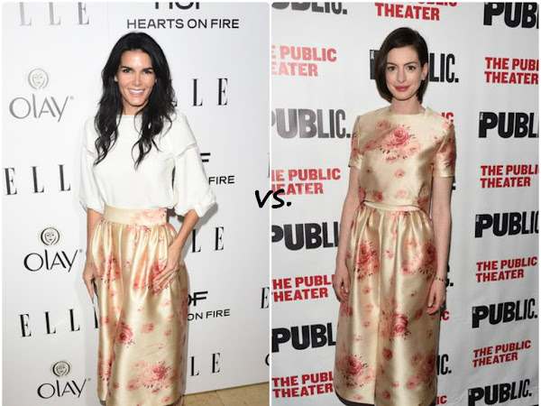 Angie Harmon vs Anne Hathaway