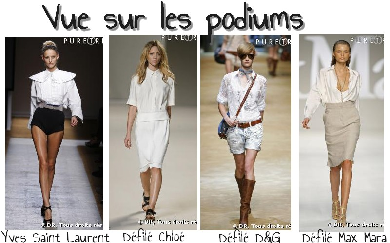 Spicysoulspirit dossier mode comment porter la chemise blanche - Comment porter une chemise femme ...