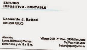 Dr Leonardo Rattari y Asociados