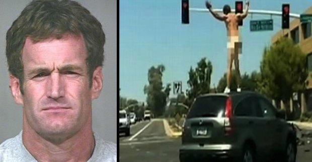John Brigham Naked Man Terrorizes Scottsdale Arizona In Carjacked