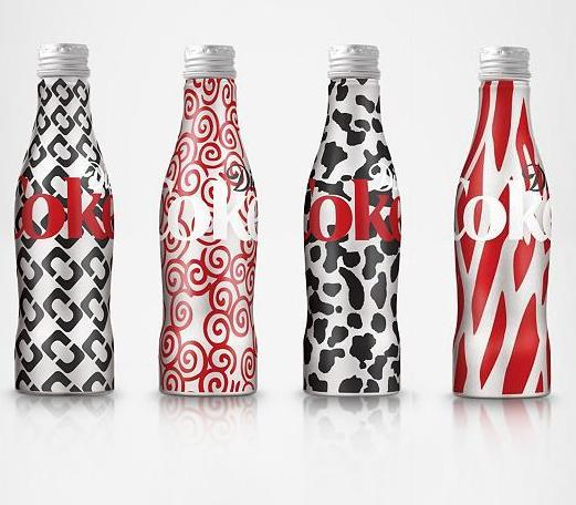 Fashion Designer Coke Bottles