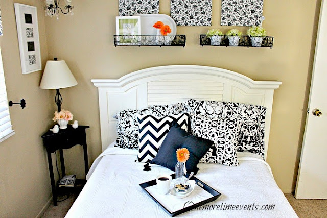 Guest Room makeover at One More Time Events.com