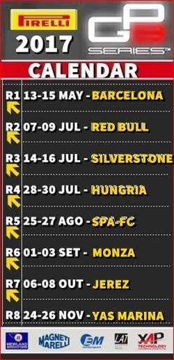 GP3 - Calendário