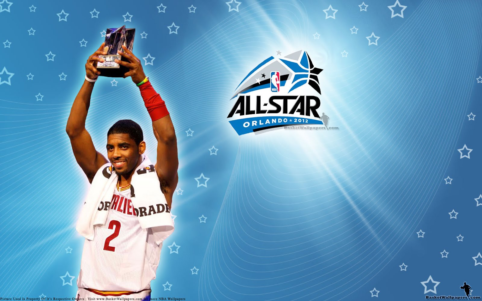 2012 nba all star mvp wallpaper awardee big fan of nba daily update wallpaper of tony parker kevin love who won 3pts shootout rising stars challenge with kyrie irving holding mvp trophy above his head and kevin durant voltagebd Choice Image