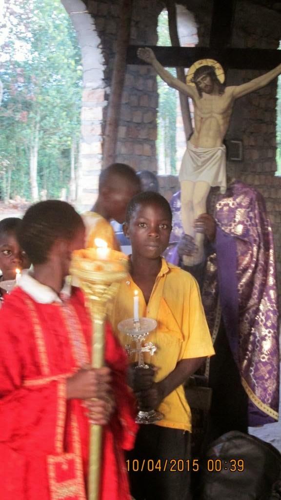 Μεγάλη Εβδομάδα 2015 στο Λουγκουζί της Ουγκάντας