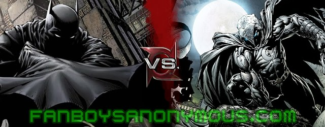 Find out who would win in a fight, Batman or Moon Knight, on ComicBookResources.com