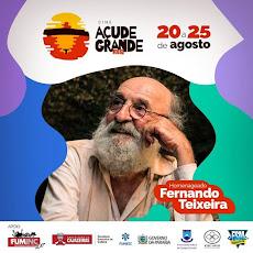 O FESTIVAL CINE AÇUDE GRANDE 2018, TERÁ O ATOR FERNANDO TEIXEIRA COMO HOMENAGEADO.