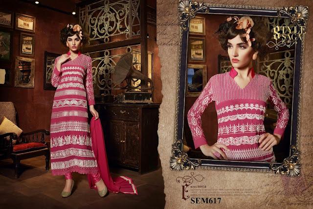 Buy  Georgette Long Designer Salwar Suit – Supplier