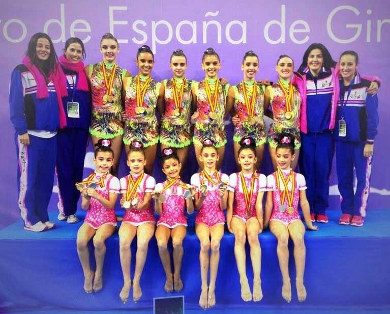 Club Ritmo Campeonas España 2013