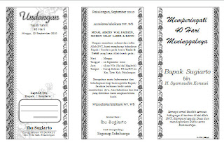 for invitation walimatul ursy aqiqah walimatul khitan or tahlil