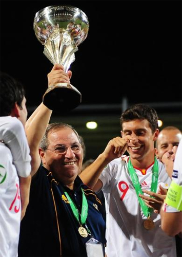 selección española sub 19 de fútbol campeona de Europa