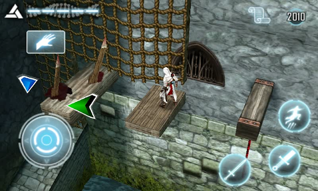 Captura de juego Assassin Creed symbian s^3