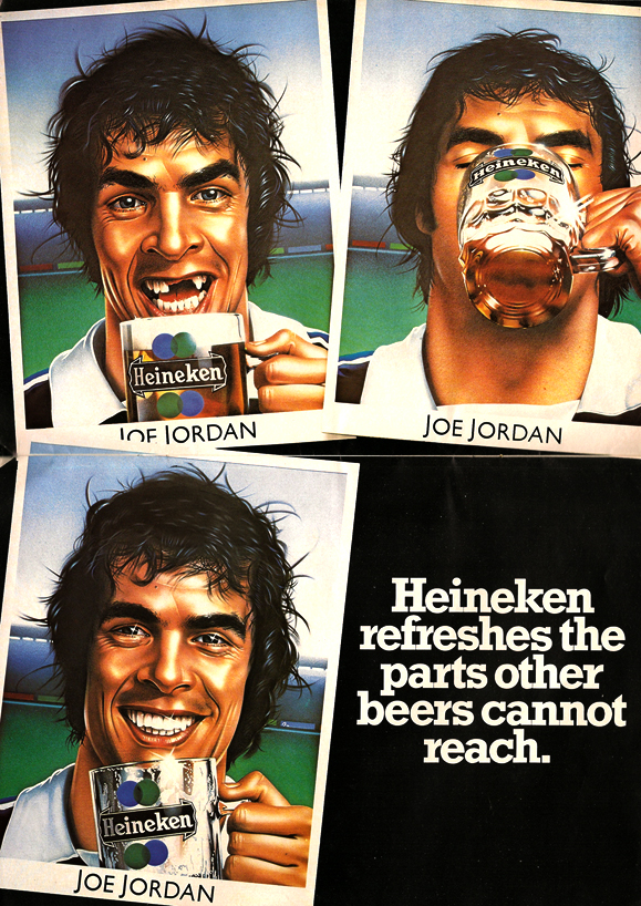 Heineken Advert 1978 The Football Attic
