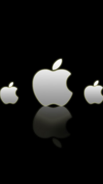 apple logos wallpaper