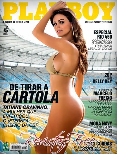 Revista Playboy - Tatiane Cunha Cravinho - Março 2015