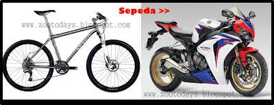 Modifikasi Sepeda Menjadi Motor GP I - [www.zootodays.blogspot.com]