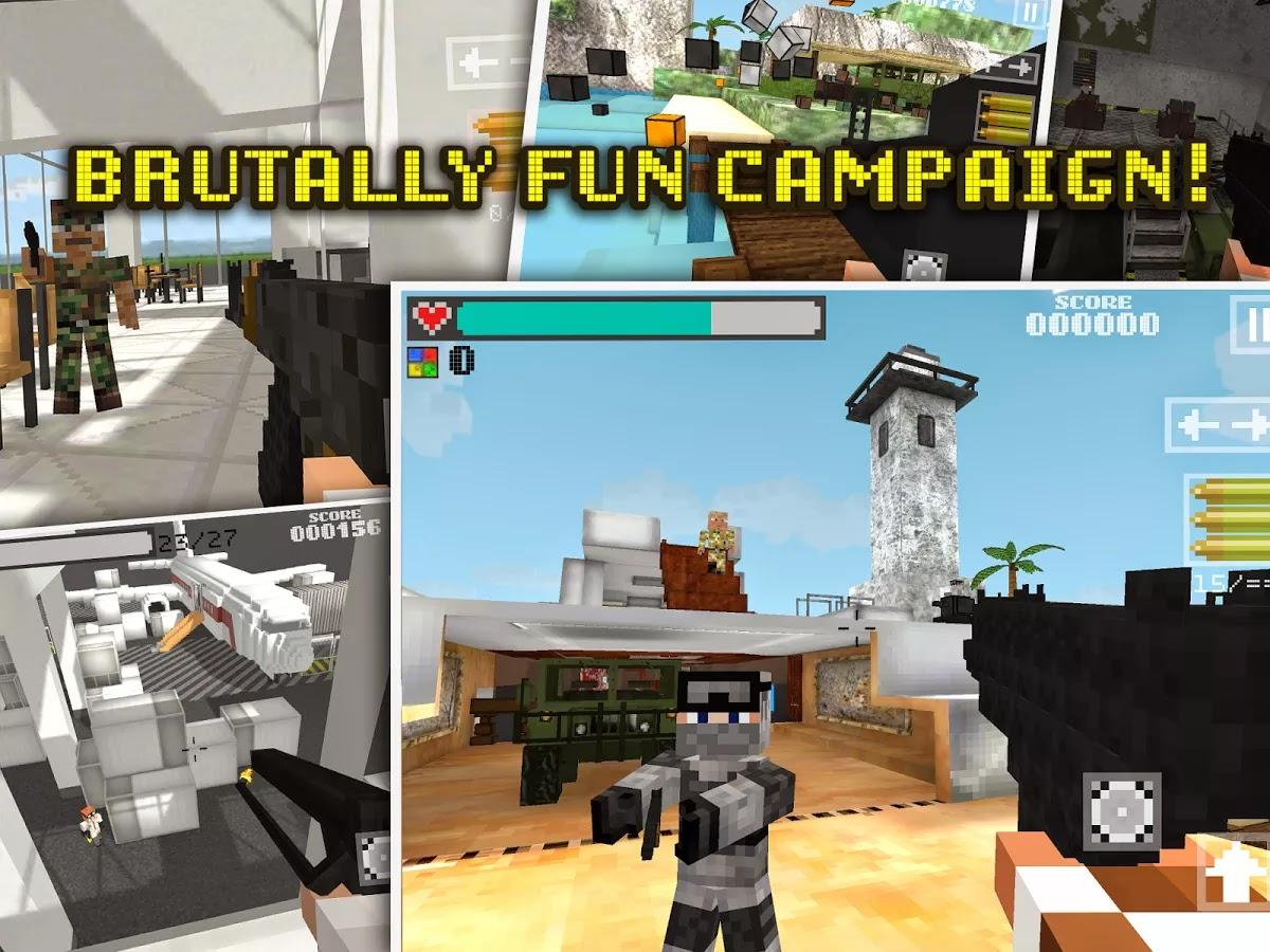 Block Gun 3D: Ghost Ops apk obb