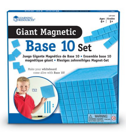 http://www.amazon.com/Learning-Resources-Giant-Magnetic-Base/dp/B004DIZ7H6/ref=sr_1_1?ie=UTF8&qid=1429924231&sr=8-1&keywords=magnetic+base+ten+blocks