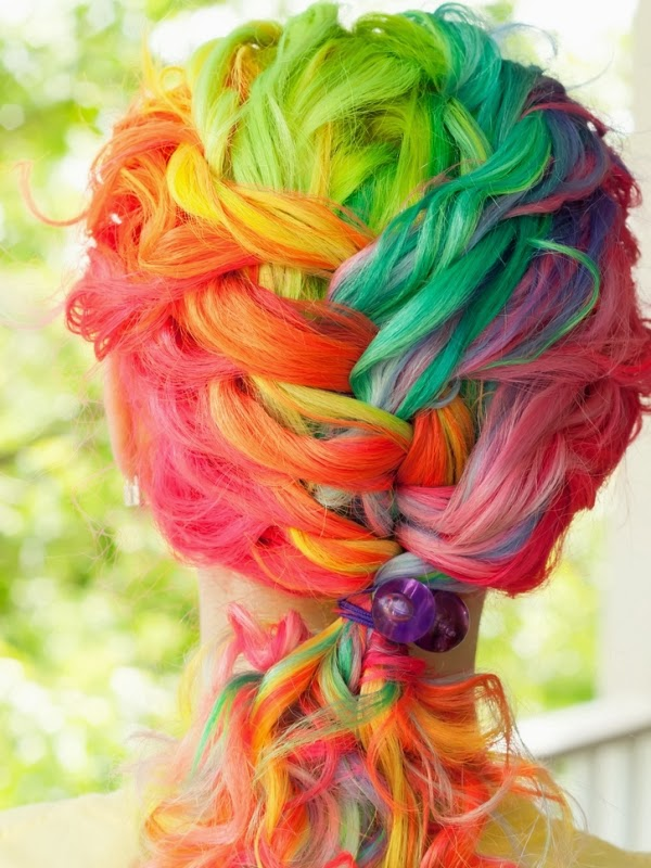 20 Beautiful Colorful Hair The Idea King