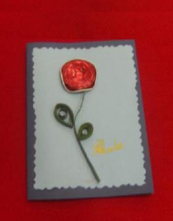 Tarjetas de navidad con materiales reciclados for Crear tarjetas de navidad