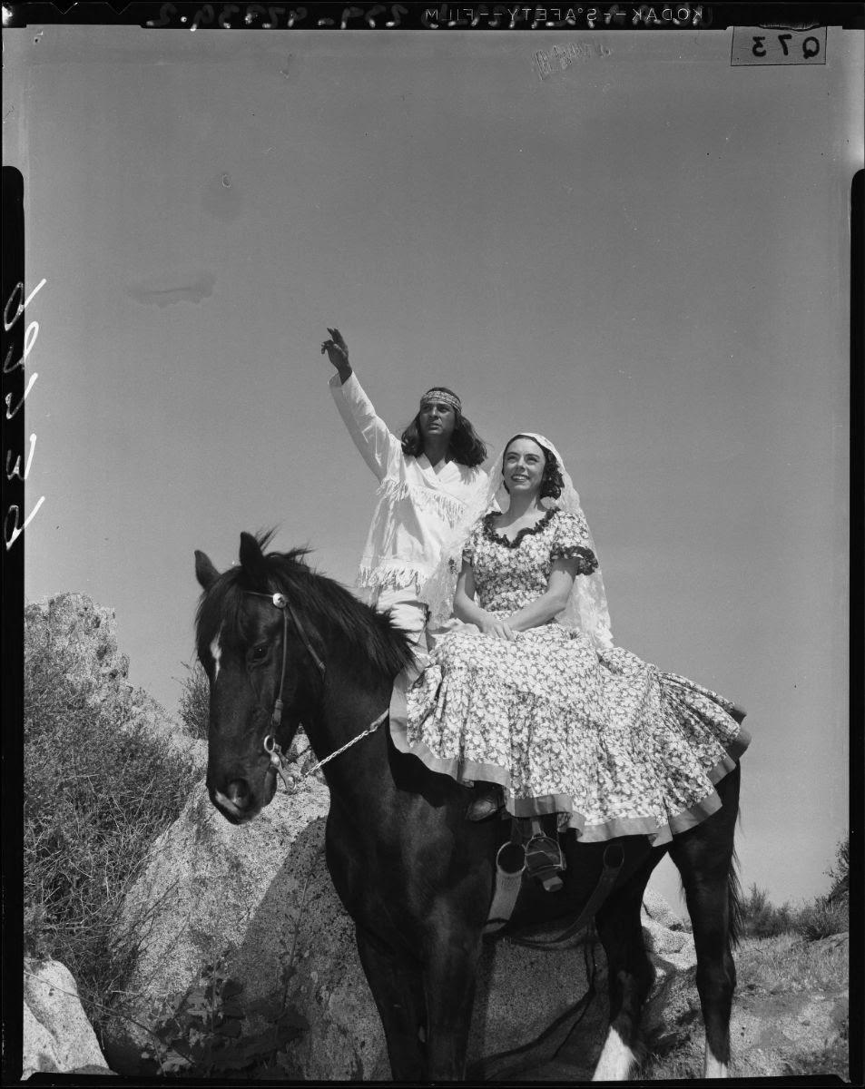 Alessandro and Ramona, 1955 Ramona Pageant