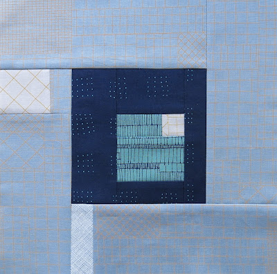 Modern sampler quilt - Block #8 - Inspired by Tula Pink City Sampler
