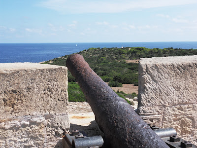 Fortress battlements Mallorca