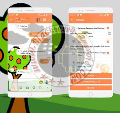 Aplikasi BBM Mod Terbaru 2015 Tema Parallax Citrusia v2.10.0.35 Apk