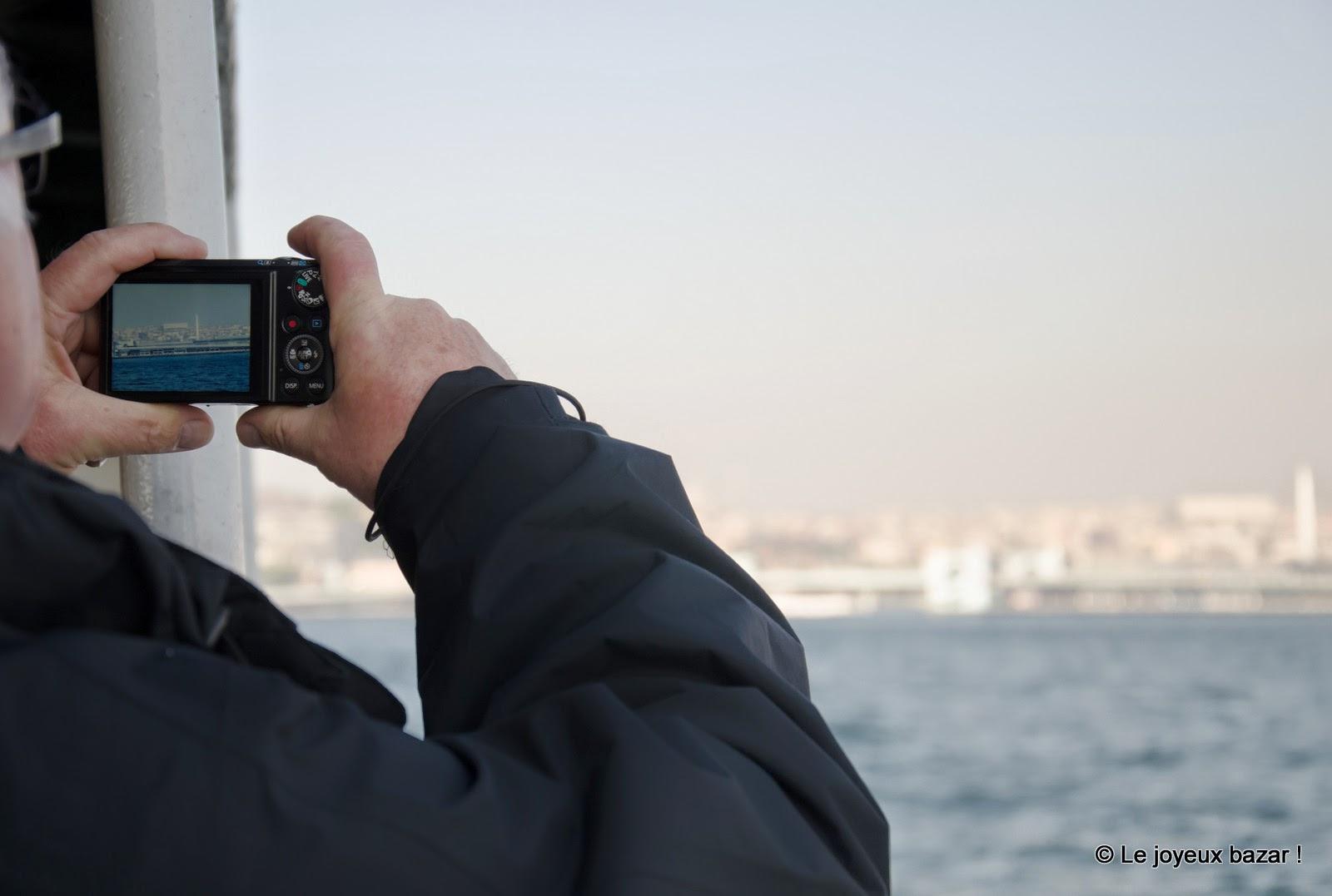 Istanbul - photo depuis le bateau