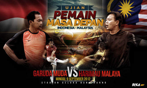 Indonesia vs Malaysia SCTV Cup 9 September 2012