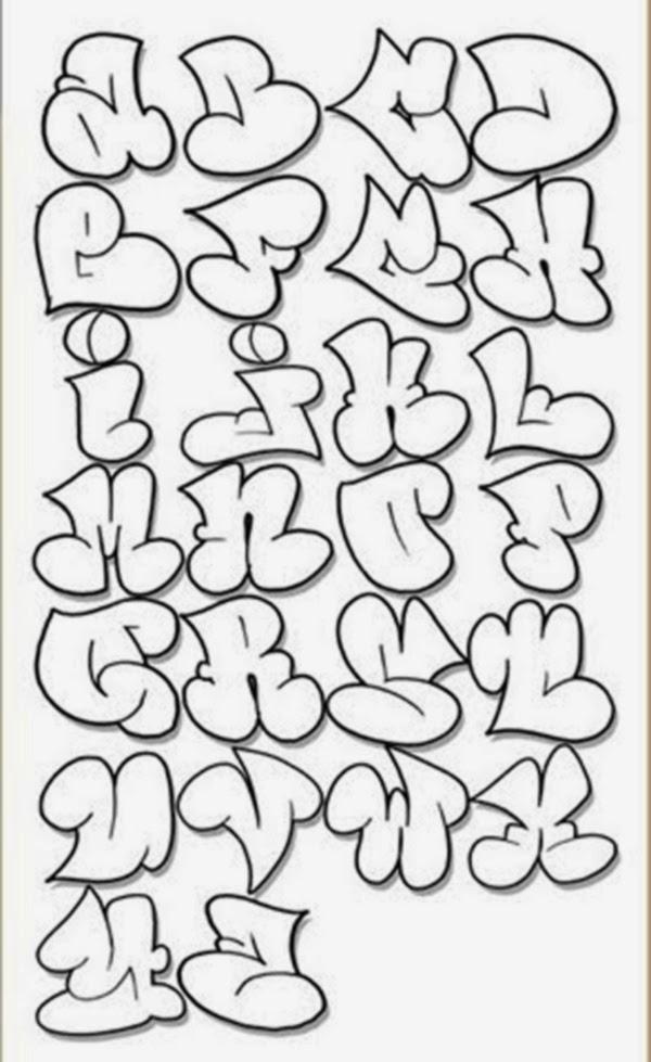 Graffiti creator styles alphabet graffiti stencils - Letter a graffiti style ...