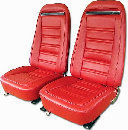 Corvette seat covers image