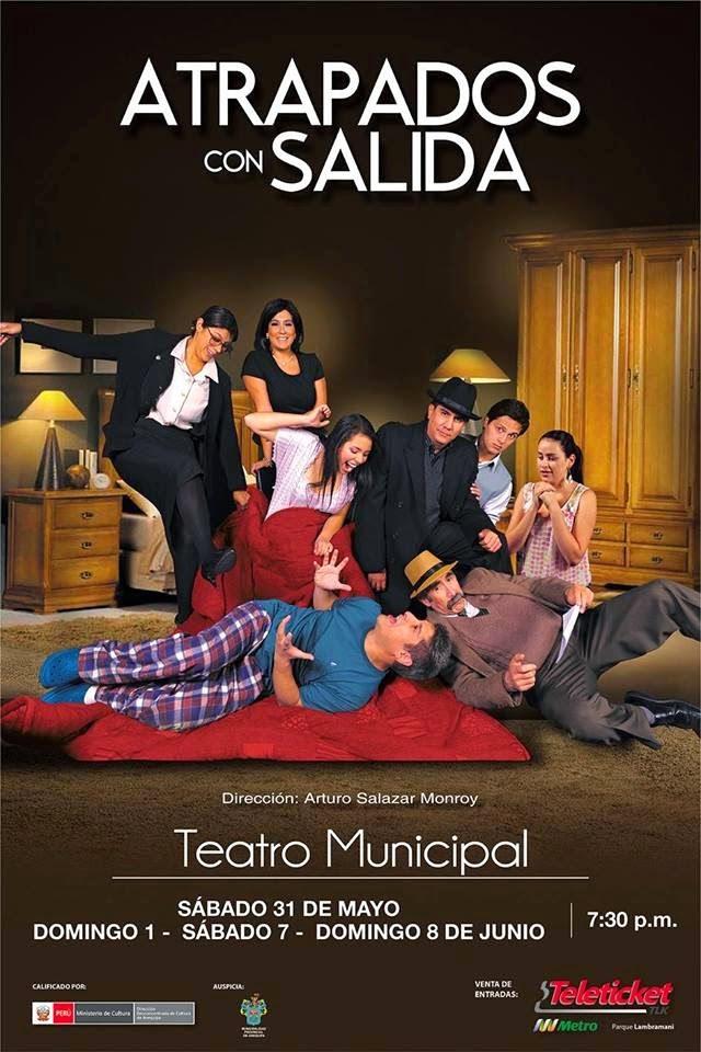 Atrapados con salida - teatro Arequipa