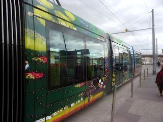 Les nouveaux trams à Montpellier