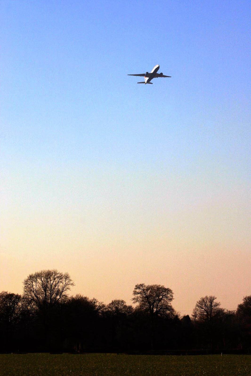 Avion hacia Islalimon