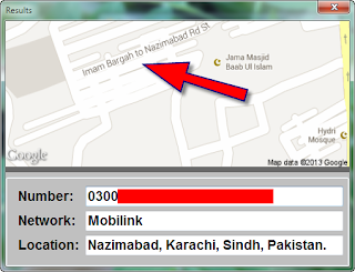 Number trace pakistan online