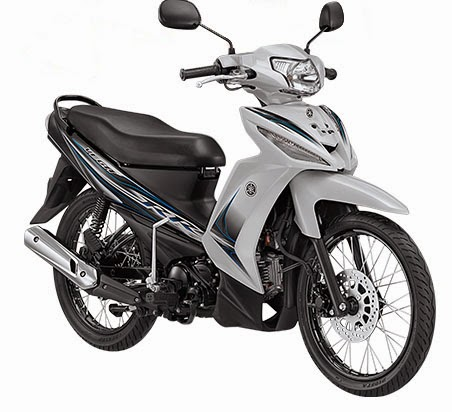 Yamaha New Vega RR warna putih