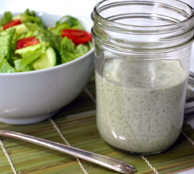 THE SIMPLE VEGANISTA: Creamy Lemon Herb Dressing